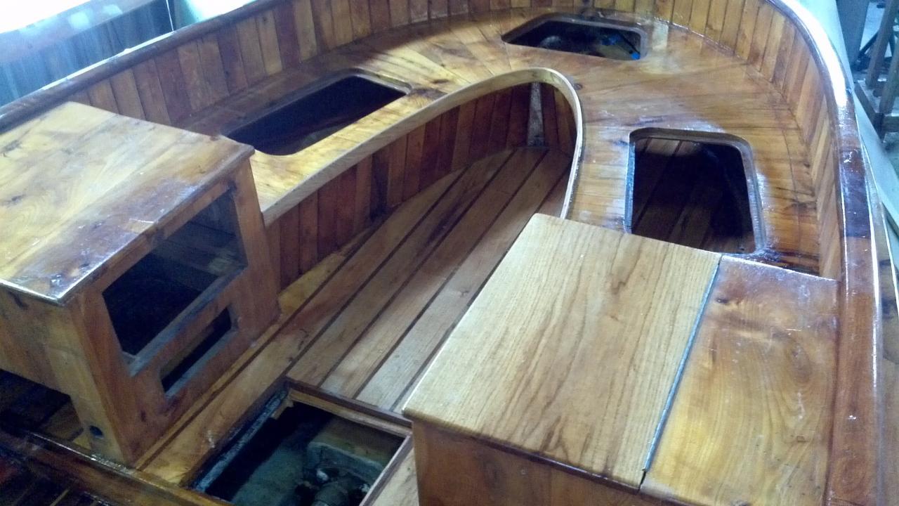 Boat Interior Restoration Cantieri Navali Di Sestri