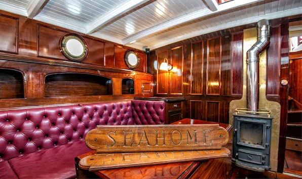 The Wonderful Interior Refit on the Sea Home Yacht