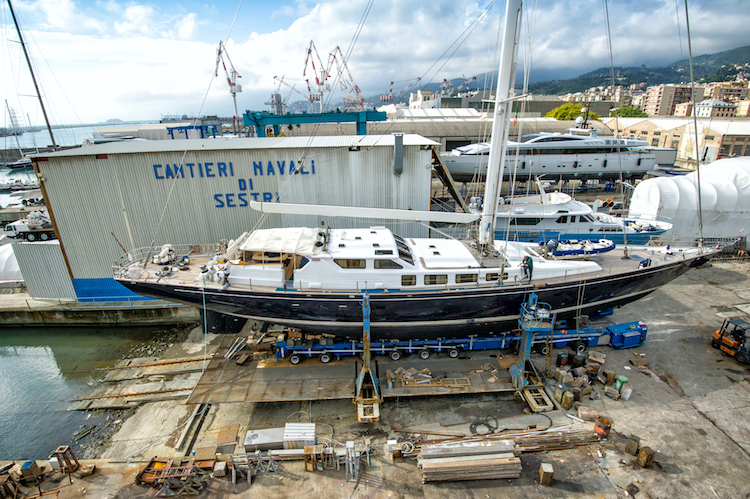 Immagini Cantieri di Sestri (Genova, ottobre 2014) Photo © Francesco Rastrelli protected by copyright