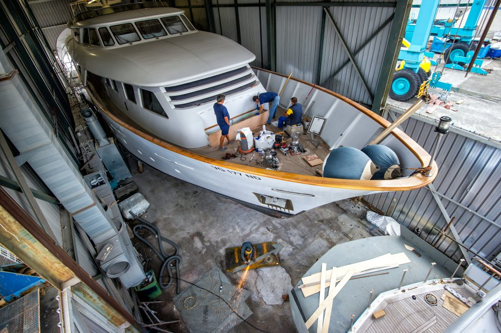 Cantieri di Sestri - Electric System Refitting yacht